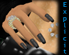 [x]N dark manicure