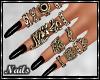 Nails - Black