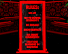 Vamp Rules Sign
