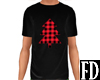 Red Plaid Winter Tee