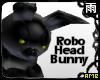 Yellow Robo Head Bunny