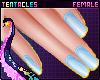 ⭐ Cute Nails Blue