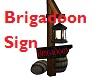 Brigadoon Sign