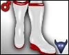 PVC Nurse boots wht (m)