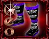 Geo Draco Boots purple