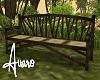 Boho Forest Bench
