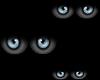 Scary Floating Blue Eyes