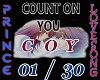 COUNT ON YOU LOVE SONG