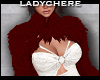 LC Layerable Red Fur