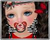 KIDS ladybug pacifier