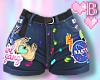 *B DIY Shorts L/XL