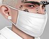 rz. White Leather Mask