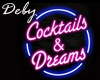 Neon Cocktails& Dreams