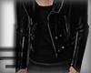 Jacket | Black leather