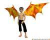 Fiery Dragon Wings