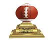 Saints Football Trophy