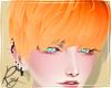 Flame Orange Cas Hair