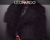 f Black Fur Coat
