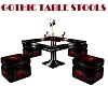 GOTHIC TABLE STOOLS