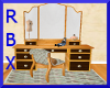 Antique Dresser & Doll