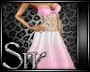 pink wedding dresss