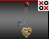 Chained Hearts Earrings