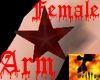 Evil Female Arm Star