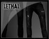 [LS] Black jeans.