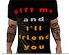 Gift Friend You Shirt M