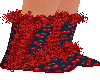 Red Cherry Boots