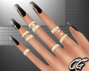 CG | Black Ombre Nails G
