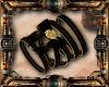 Steampunk Bow Bracelet L