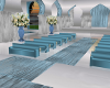 A~Wedding room blue/silv
