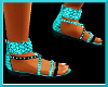 $A$(turq)tigre sandal