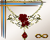 [CFD]Blood Rose Necklace