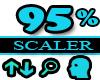 95% Scaler Head Resizer