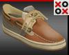 XO Tan Loafers