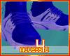 ! Blue Mondern Sneakers
