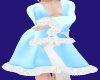 ~HD~Blue Bed Robe-m-
