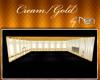 B*Cream/Gold Square Rm