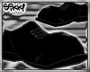 602 Steel Toes: Black
