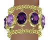 Purple Stones Bracelets