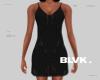 B.alma slip dress blk