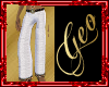 Geo Bianco E Ono Pants