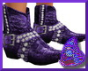 Req Purple Cowboy Boots