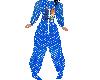 Blue dino & Pebbles PJ's