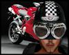 Motor Helmet -Casco