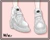 D · M white shoes