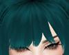 Teal Green Galva Bang
