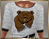Gray Bear Sweater